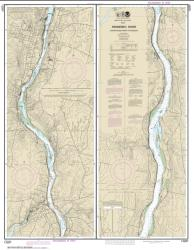Buy map Kennebec River Courthouse Point to Augusta Nautical Chart (13297) by NOAA from Maine Maps Store