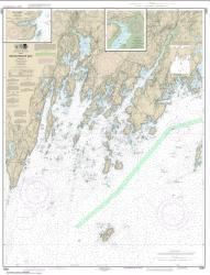 Buy map Muscongus Bay; New Harbor; Thomaston Nautical Chart (13301) by NOAA from Maine Maps Store