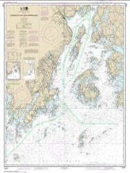 Buy map Penobscot Bay and Approaches Nautical Chart (13302) by NOAA from Maine Maps Store