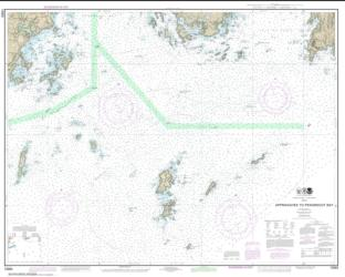 Buy map Approaches to Penobscot Bay Nautical Chart (13303) by NOAA from Maine Maps Store