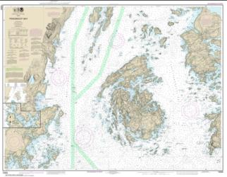 Buy map Penobscot Bay; Carvers Harbor and Approaches Nautical Chart (13305) by NOAA from Maine Maps Store