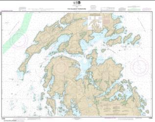 Buy map Fox Islands Thorofare Nautical Chart (13308) by NOAA from Maine Maps Store
