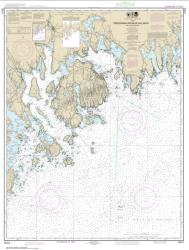 Buy map Frenchman and Blue Hill Bays and Approaches Nautical Chart (13312) by NOAA from Maine Maps Store