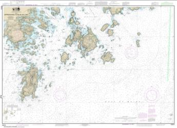 Buy map Approaches to Blue Hill Bay Nautical Chart (13313) by NOAA from Maine Maps Store