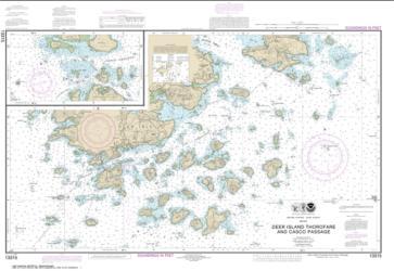 Buy map Deer Island Thorofare and Casco Passage Nautical Chart (13315) by NOAA from Maine Maps Store