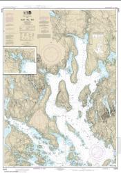 Buy map Blue Hill Bay; Blue Hill Harbor Nautical Chart (13316) by NOAA from Maine Maps Store