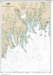 Buy map Tibbett Narrows to Schoodic Island Nautical Chart (13324) by NOAA from Maine Maps Store