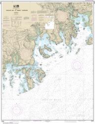 Buy map Machias Bay to Tibbett Narrows Nautical Chart (13326) by NOAA from Maine Maps Store
