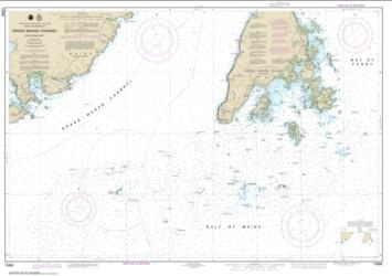 Buy map Grand Manan Channel Southern Part Nautical Chart (13392) by NOAA from Maine Maps Store