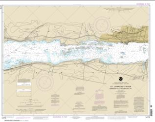 Buy map Morristown, N.Y. to Butternut, Ont. Nautical Chart (14770) by NOAA from New York Maps Store