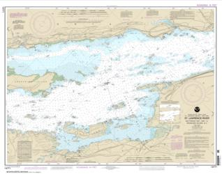 Buy map Butternut Bay, Ont., to Ironsides l., N.Y. Nautical Chart (14771) by NOAA from New York Maps Store