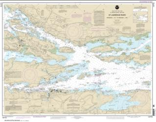 Buy map Ironsides l., N.Y., to Bingham l., Ont. Nautical Chart (14772) by NOAA from New York Maps Store