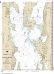 Buy map Cumberland Head to Four Brothers Islands Nautical Chart (14782) by NOAA from New York Maps Store