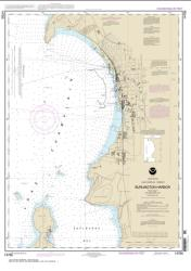 Buy map Burlington Harbor Nautical Chart (14785) by NOAA from Vermont Maps Store