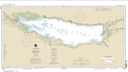 Buy map Oneida Lake - Lock 22 to Lock 23 Nautical Chart (14788) by NOAA from New York Maps Store