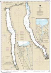 Buy map Cayuga and Seneca Lakes; Watkins Glen; Ithaca Nautical Chart (14791) by NOAA from New York Maps Store