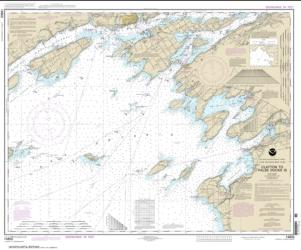 Buy map Clayton to False Ducks ls. Nautical Chart (14802) by NOAA from Ontario Maps Store