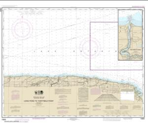 Buy map Long Pond to Thirtymile Point; Point Breeze Harbor Nautical Chart (14805) by NOAA from New York Maps Store