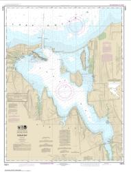 Buy map Sodus Bay Nautical Chart (14814) by NOAA from New York Maps Store