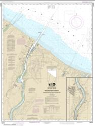 Buy map Rochester Harbor, including Genessee River to head of navigation Nautical Chart (14815) by NOAA from New York Maps Store