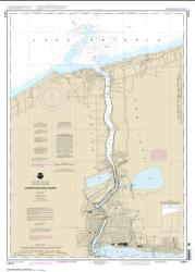 Buy map Lower Niagara River Nautical Chart (14816) by NOAA from New York Maps Store