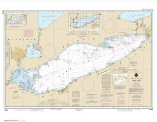 Buy map Lake Erie Nautical Chart (14820) by NOAA from New York Maps Store