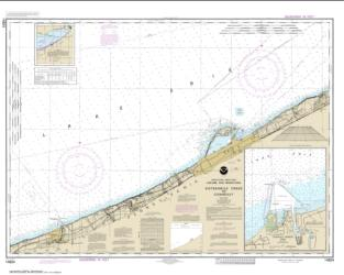 Buy map Sixteenmile Creek to Conneaut; Conneaut Harbor Nautical Chart (14824) by NOAA from Pennsylvania Maps Store