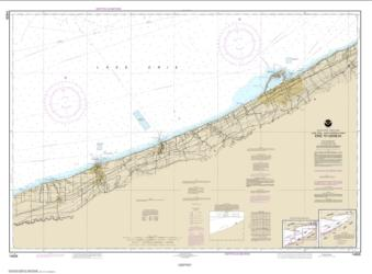 Buy map Erie to Geneva Nautical Chart (14828) by NOAA from Ohio Maps Store