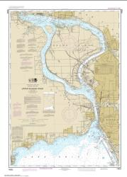 Buy map Niagara Falls to Buffalo Nautical Chart (14832) by NOAA from New York Maps Store
