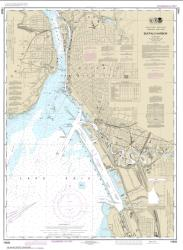 Buy map Buffalo Harbor Nautical Chart (14833) by NOAA from New York Maps Store