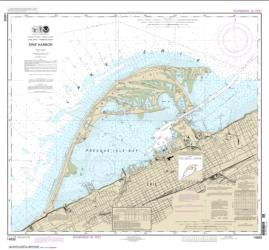 Buy map Erie Harbor Nautical Chart (14835) by NOAA from Pennsylvania Maps Store