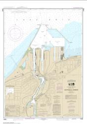Buy map Ashtabula Harbor Nautical Chart (14836) by NOAA from Ohio Maps Store