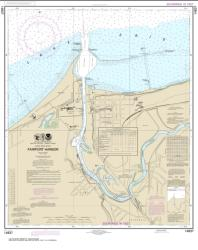 Buy map Fairport Harbor Nautical Chart (14837) by NOAA from Ohio Maps Store
