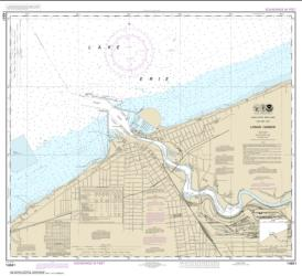 Buy map Lorain Harbor Nautical Chart (14841) by NOAA from Ohio Maps Store