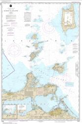 Buy map Islands in Lake Erie; Put-In-Bay Nautical Chart (14844) by NOAA from Ohio Maps Store