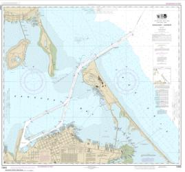Buy map Sandusky Harbor Nautical Chart (14845) by NOAA from Ohio Maps Store