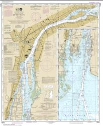 Buy map Detroit River Nautical Chart (14848) by NOAA from United States Maps Store