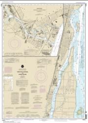 Buy map Trenton Channel and River Rouge; River Rouge Nautical Chart (14854) by NOAA from United States Maps Store