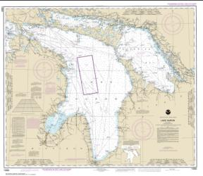 Buy map Lake Huron Nautical Chart (14860) by NOAA from United States Maps Store