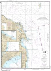Buy map Harrisville to Forty Mile Point; Harrisville Harbor; Alpena; Rogers City and Calcite Nautical Chart (14864) by NOAA from United States Maps Store
