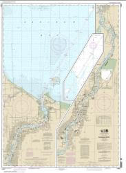 Buy map Saginaw River Nautical Chart (14867) by NOAA from United States Maps Store