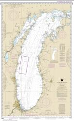 Buy map Lake Michigan (Mercator Projection) Nautical Chart (14901) by NOAA from United States Maps Store