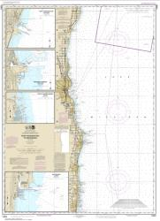 Buy map Port Washington to Waukegan; Kenosha; North Point Marina; Port Washington; Waukegan Nautical Chart (14904) by NOAA from Wisconsin Maps Store