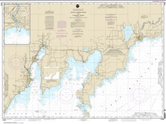 Buy map Dutch Johns Point to Fishery Point, including Big Bay de Noc and Little Bay de Noc; Manistique Nautical Chart (14908) by NOAA from United States Maps Store
