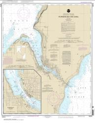 Buy map Sturgeon Bay and Canal; Sturgeon Bay Nautical Chart (14919) by NOAA from Wisconsin Maps Store