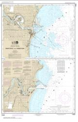 Buy map Manitowoc and Sheboygan Nautical Chart (14922) by NOAA from Wisconsin Maps Store