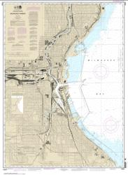 Buy map Milwaukee Harbor Nautical Chart (14924) by NOAA from Wisconsin Maps Store