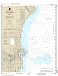 Buy map Racine Harbor Nautical Chart (14925) by NOAA from Wisconsin Maps Store
