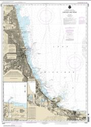 Buy map Chicago Lake Front; Gary Harbor Nautical Chart (14927) by NOAA from Illinois Maps Store