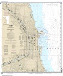 Buy map Chicago Harbor Nautical Chart (14928) by NOAA from Illinois Maps Store